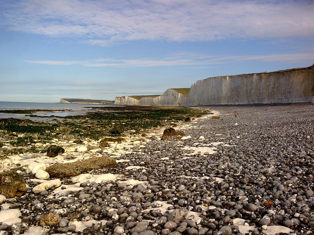 Seaford Head, Cuckmere Valley and the Seven Sisters from Birling Gap