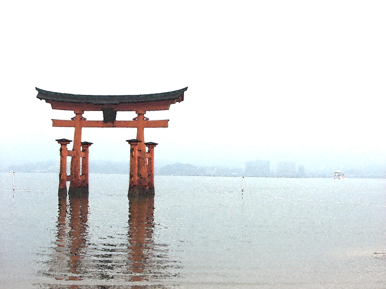 itsukushima-shrine-gate