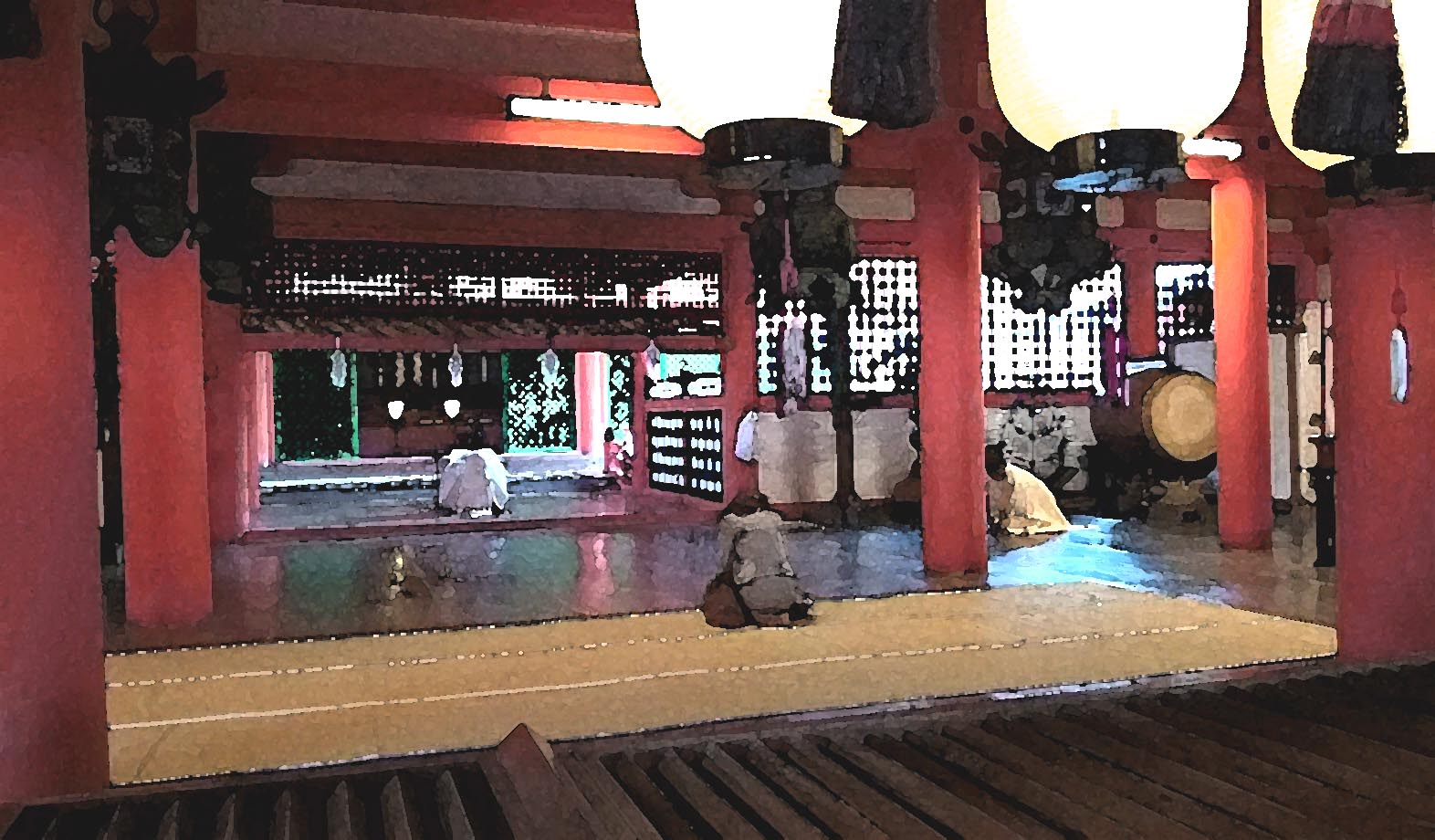 itsukushima-shrine-interior