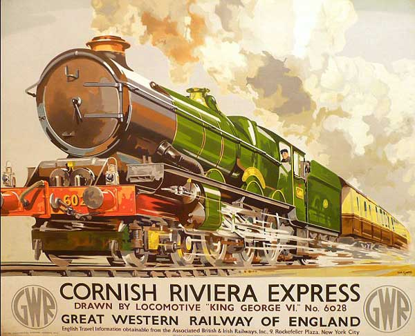... Manuel Grijalvo – Tf – The 'Cornish Riviera Express' – GWR