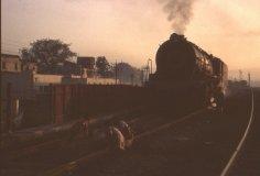 Steam-at-dawn-Hyderabad 1980s
